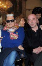 Ph Nick Zonna Moda Donna sfilata 12-03-2014 Milano Palazzo Visconto Angela Sartoria Milano  Presentazione sfilata prim.est.2014 Nella foto: show sfilata