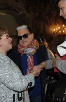 Ph Nick ZonnaModa Donna sfilata12-03-2014 Milano Palazzo ViscontoAngela Sartoria Milano Presentazione sfilata prim.est.2014Nella foto: show sfilata